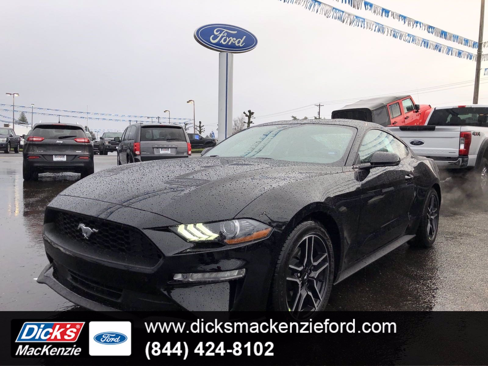 New 2020 Ford Mustang ECOBOOST PREMIUM FASTBACK