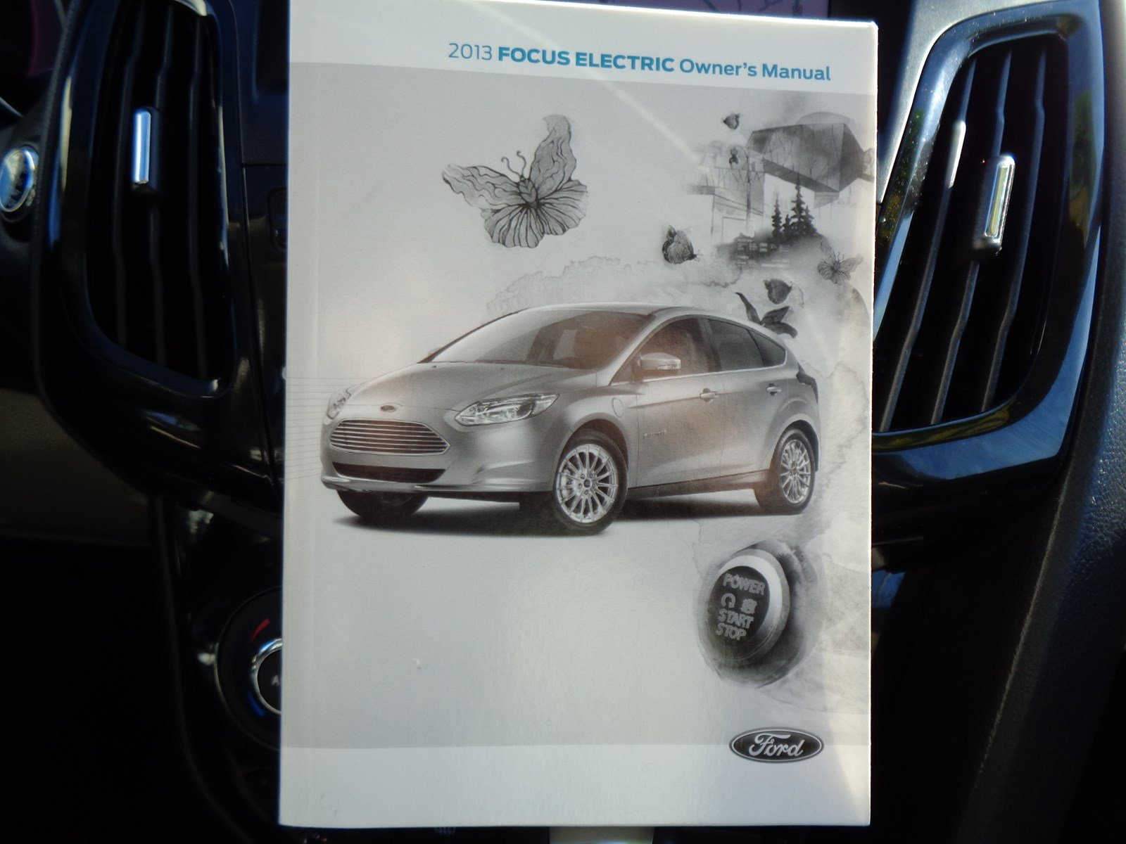 Pre-Owned 2013 Ford Focus Electric LIGHT STONE