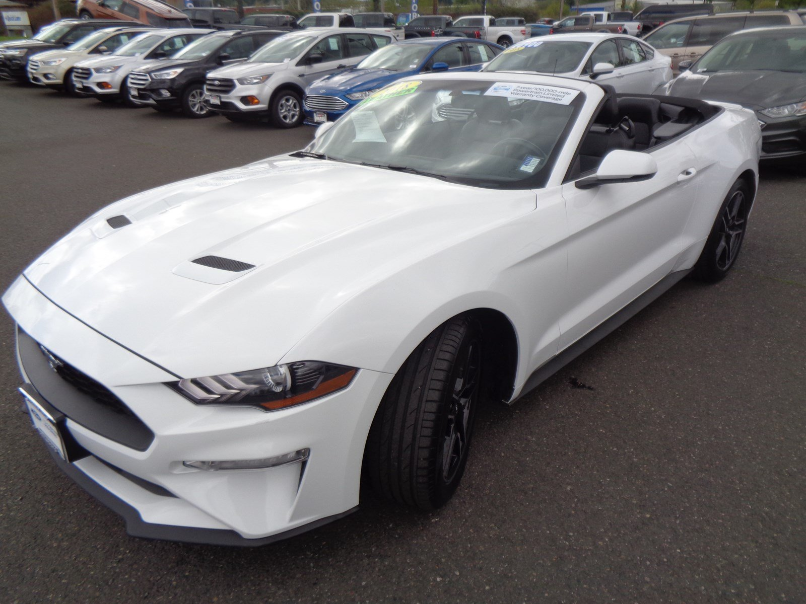 Pre-Owned 2018 Ford Mustang EBONY