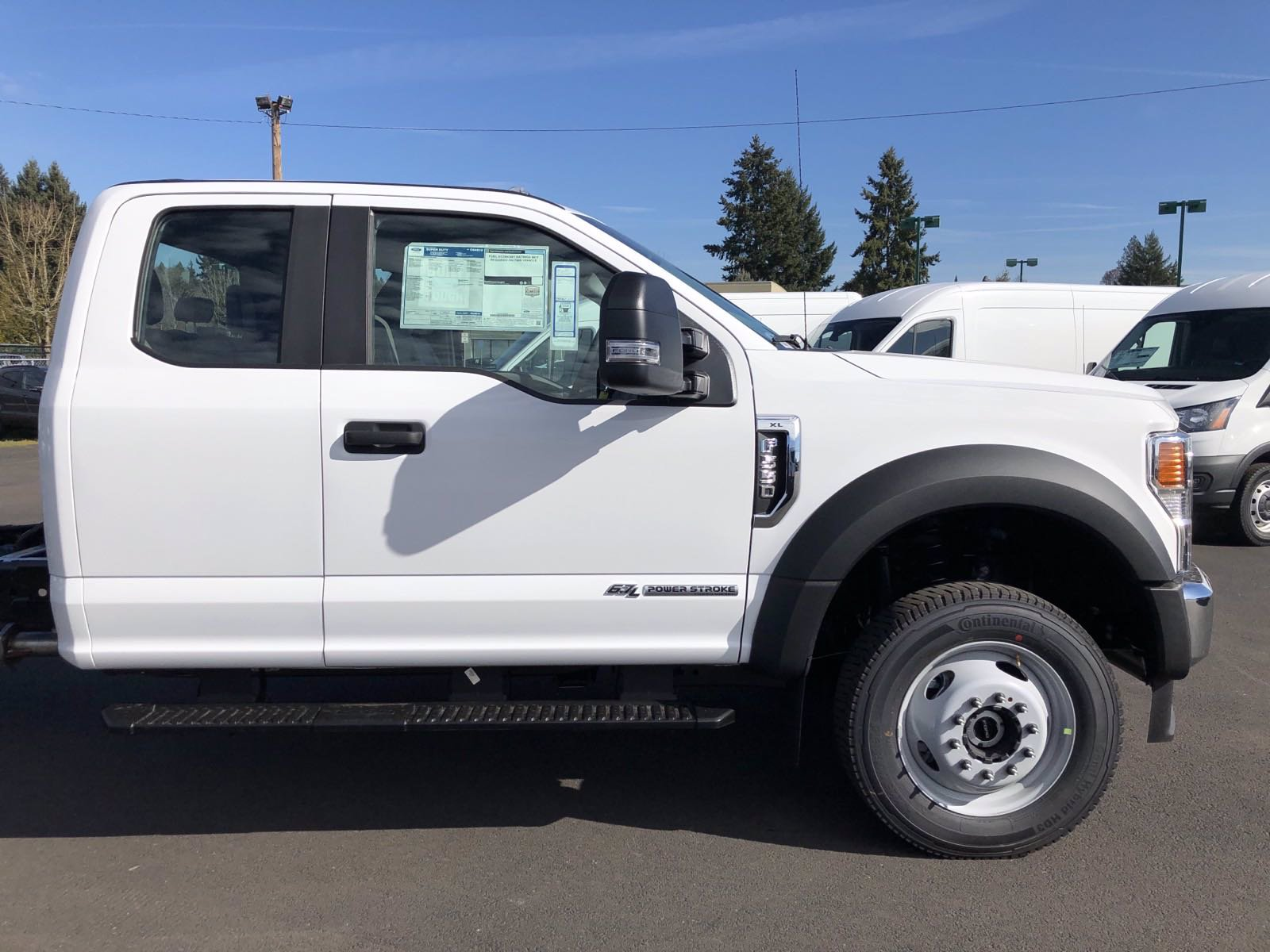 New 2020 Ford Super Duty F-550 DRW XL 4WD SC 192 WB 8