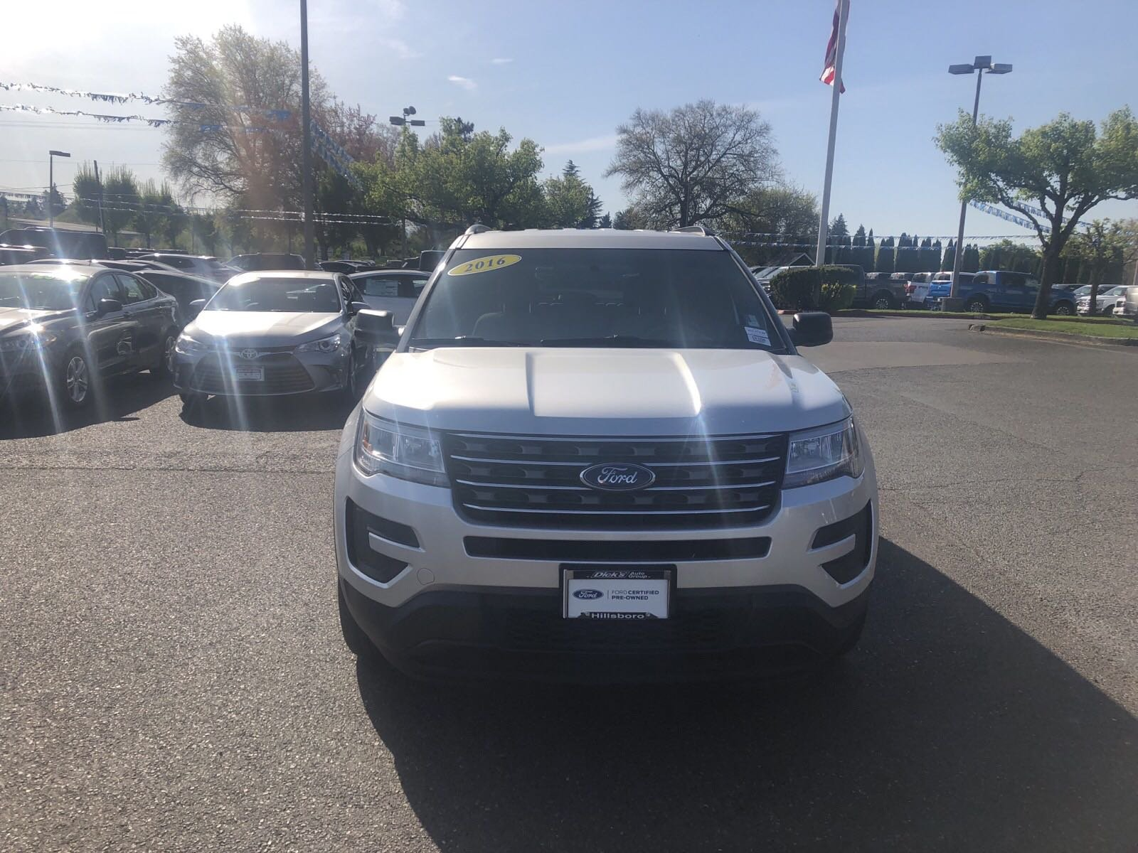 Certified Pre-Owned 2016 Ford Explorer