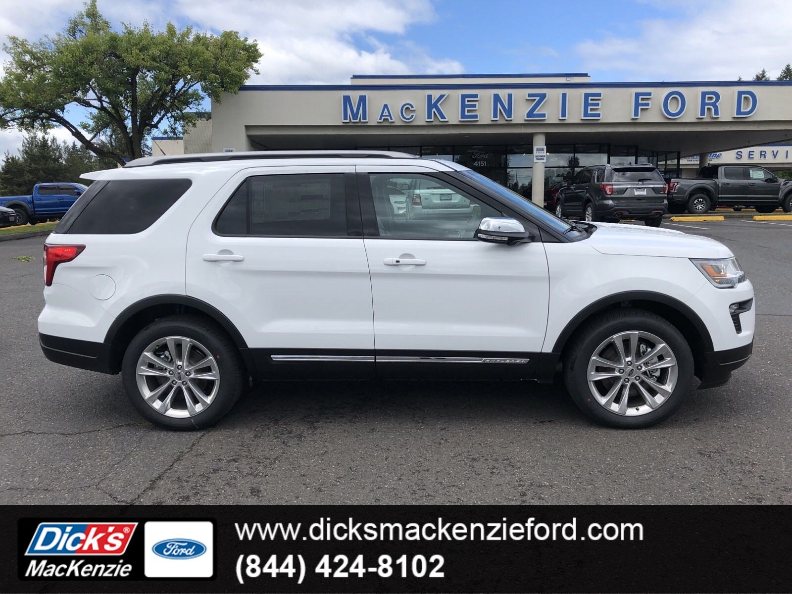 New 2019 Ford Explorer Xlt 4wd Sport Utility In Hillsboro 298534t