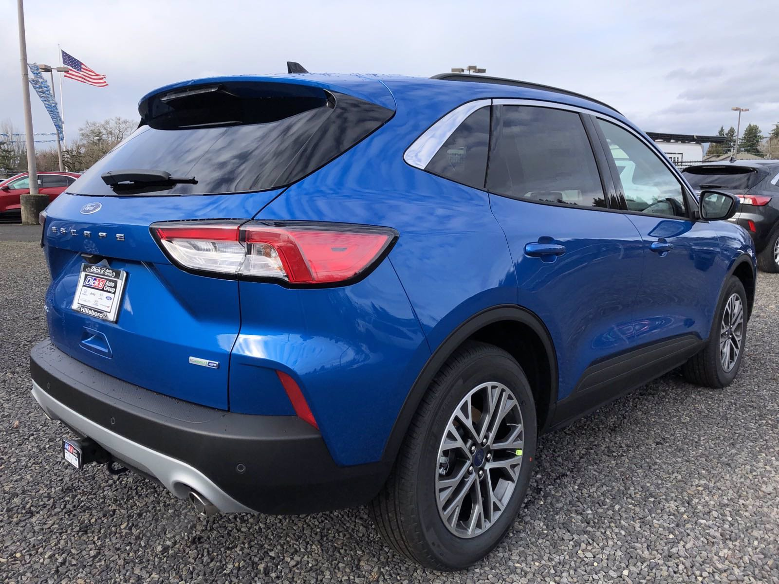 New 2020 Ford Escape SEL AWD
