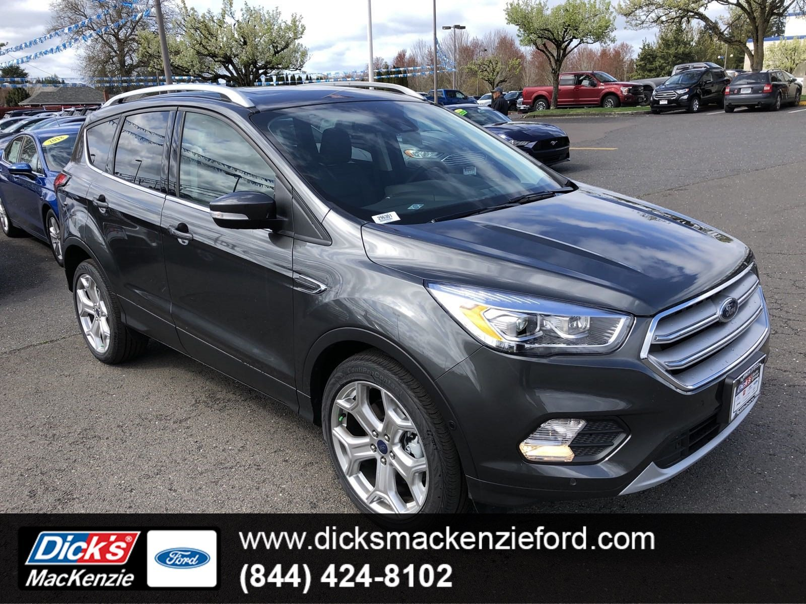 Ford Escape Titanium >> New 2019 Ford Escape Titanium 4wd Sport Utility In Hillsboro 296301