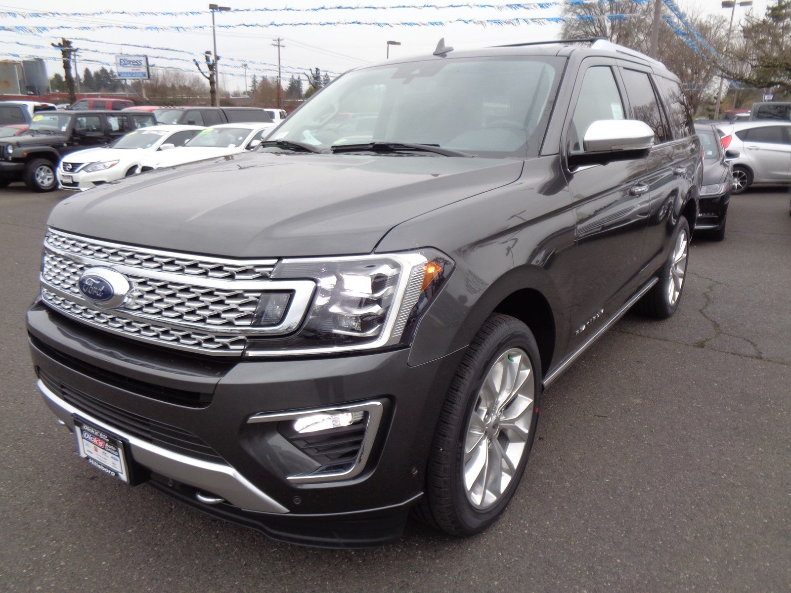 New 2019 Ford Expedition PLATINUM 4X4