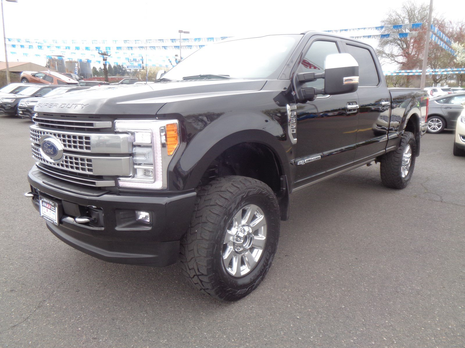 Pre-Owned 2018 Ford Super Duty F-350 Platinum