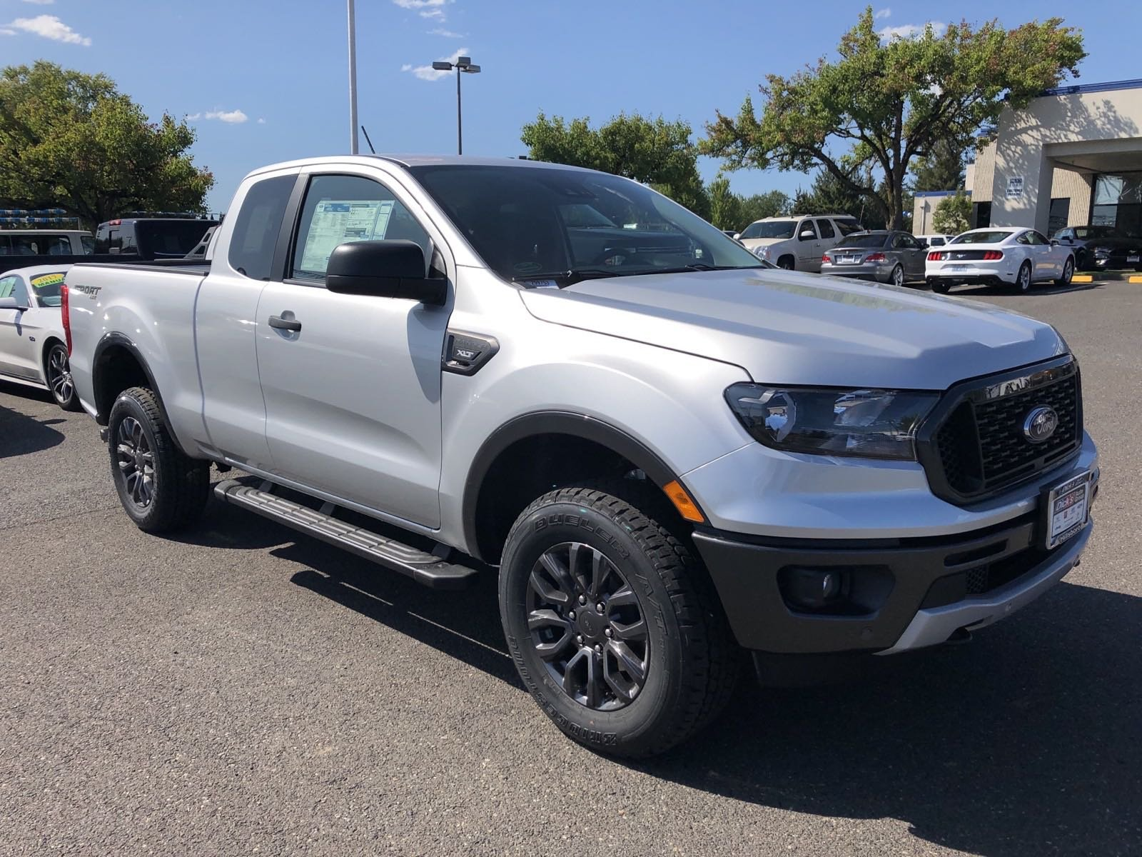 New 2019 Ford Ranger XLT 4WD SUPERCAB 6' BOX