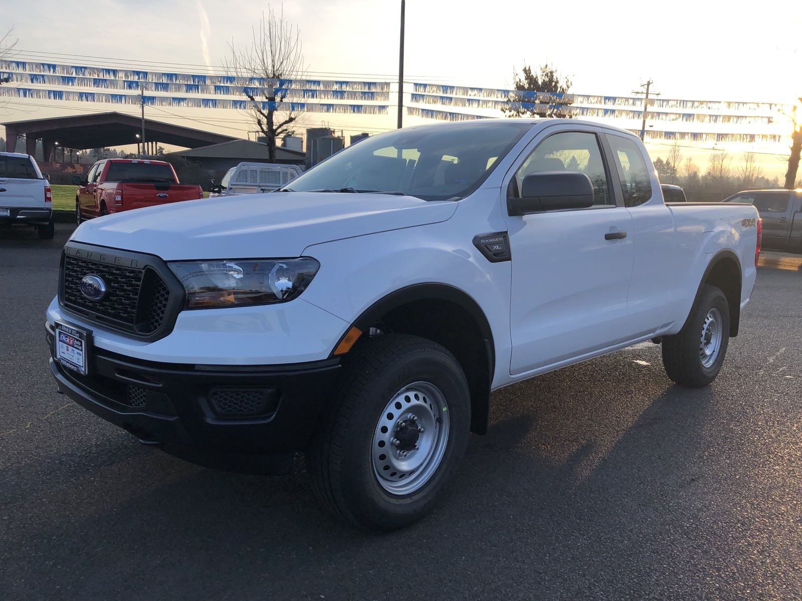 New 2019 Ford Ranger XL 4WD SPRCAB 6' BOX