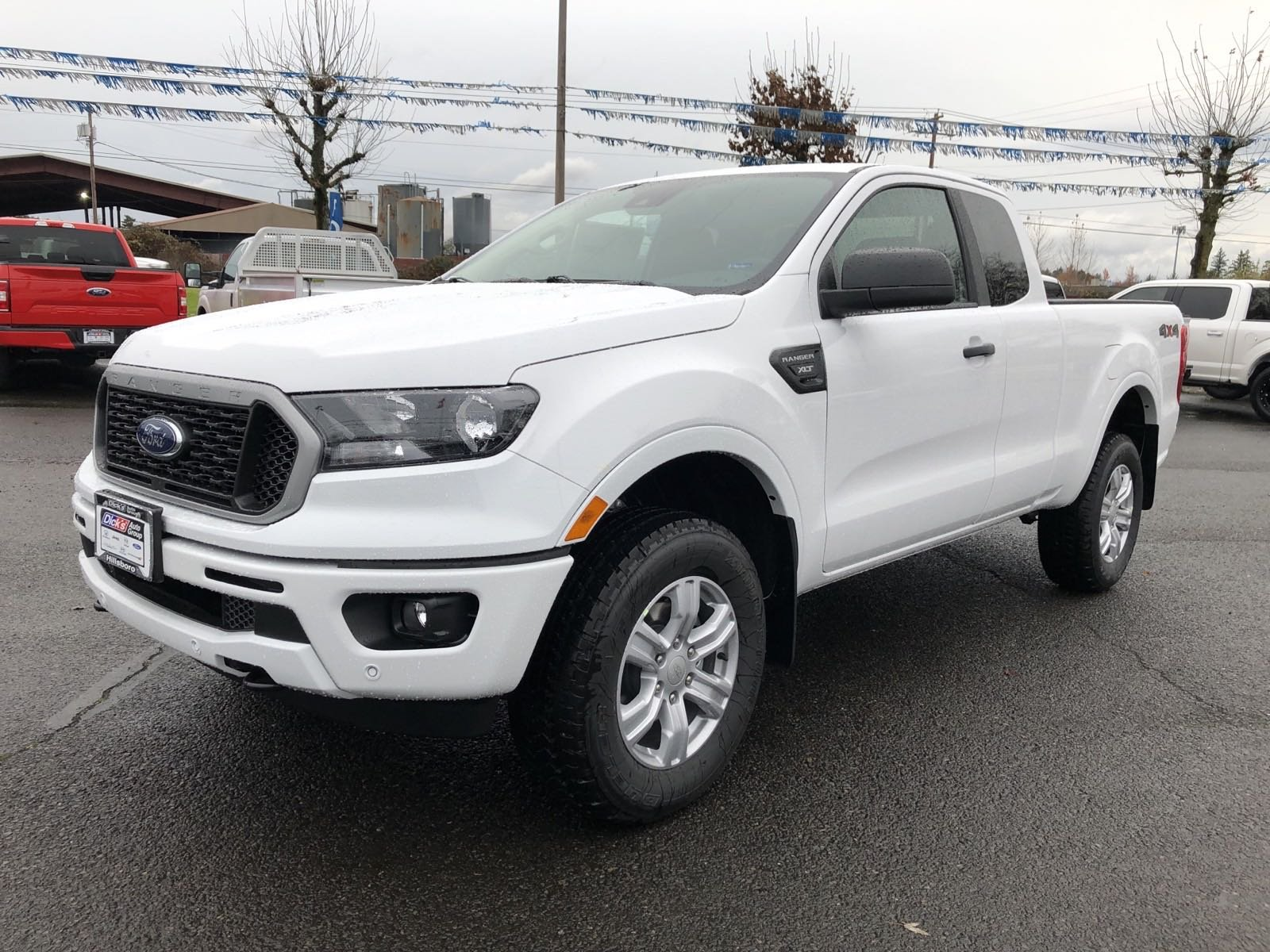 New 2019 Ford Ranger XLT 4WD SUPERCAB 145