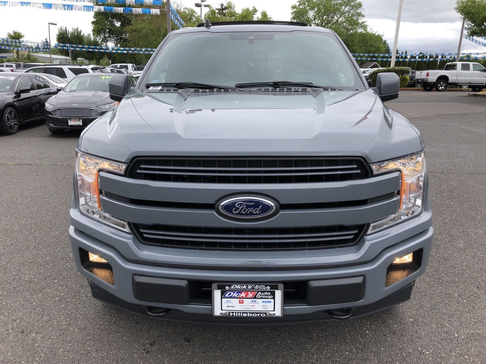 New 2019 Ford F-150 LARIAT 4WD CREW 145