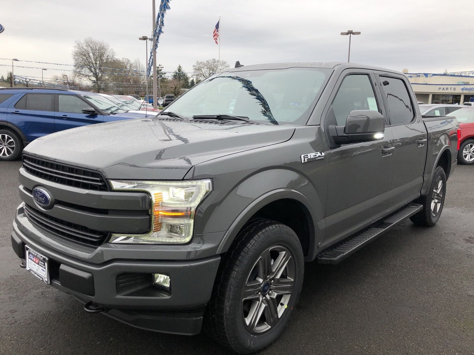 New 2020 Ford F-150 LARIAT 4WD SPRC144