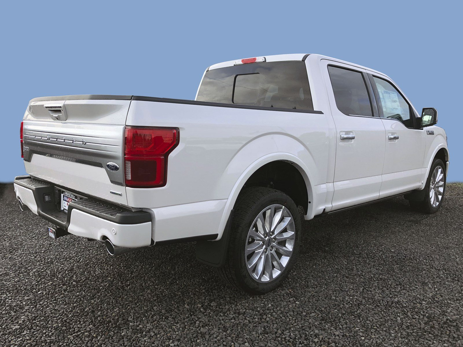 New 2019 Ford F-150 LTD 4WD SUPERCREW 145