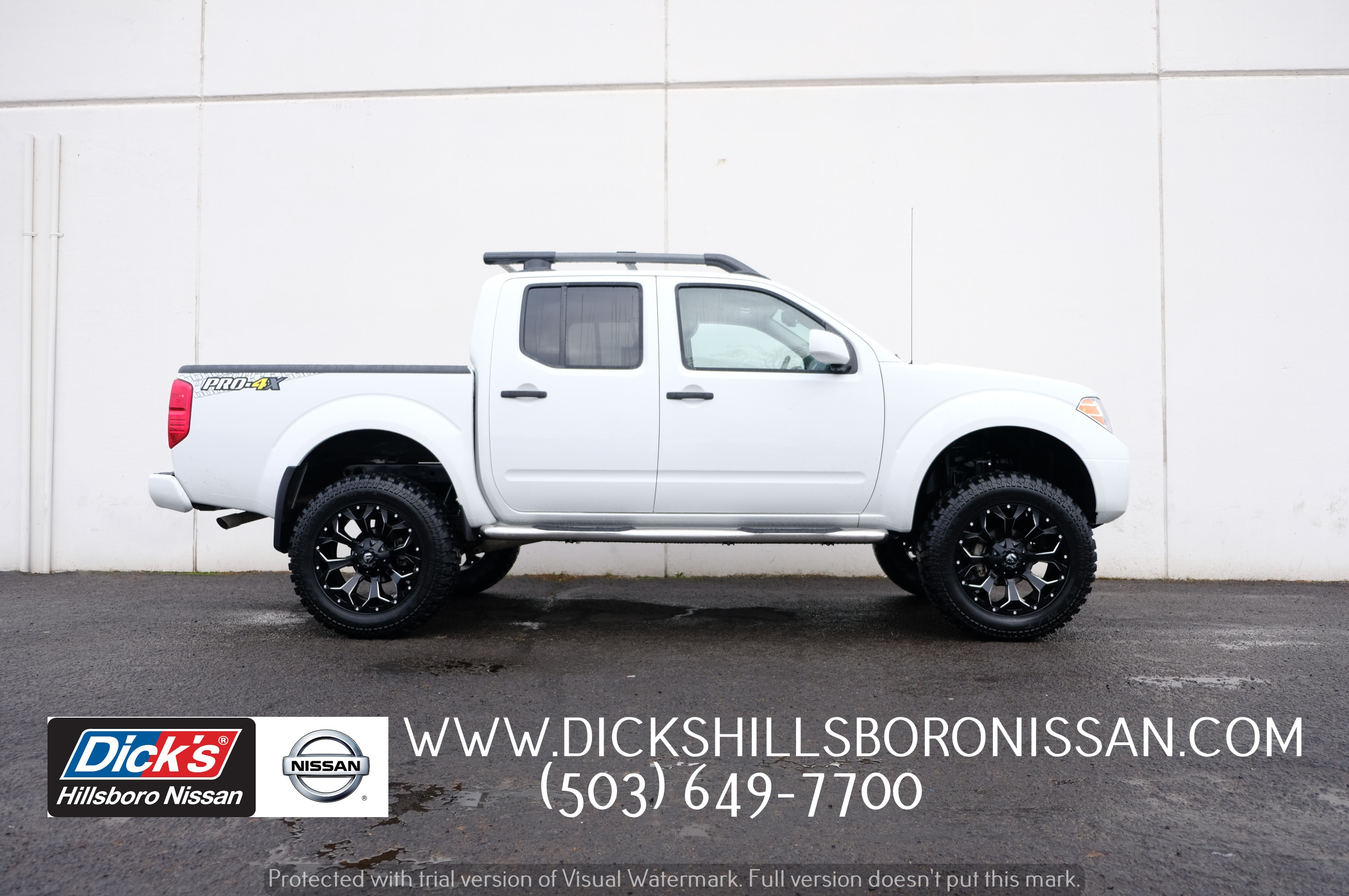 Pre Owned 2018 Nissan Frontier Pro 4x Truck Crew Cab In Hillsboro
