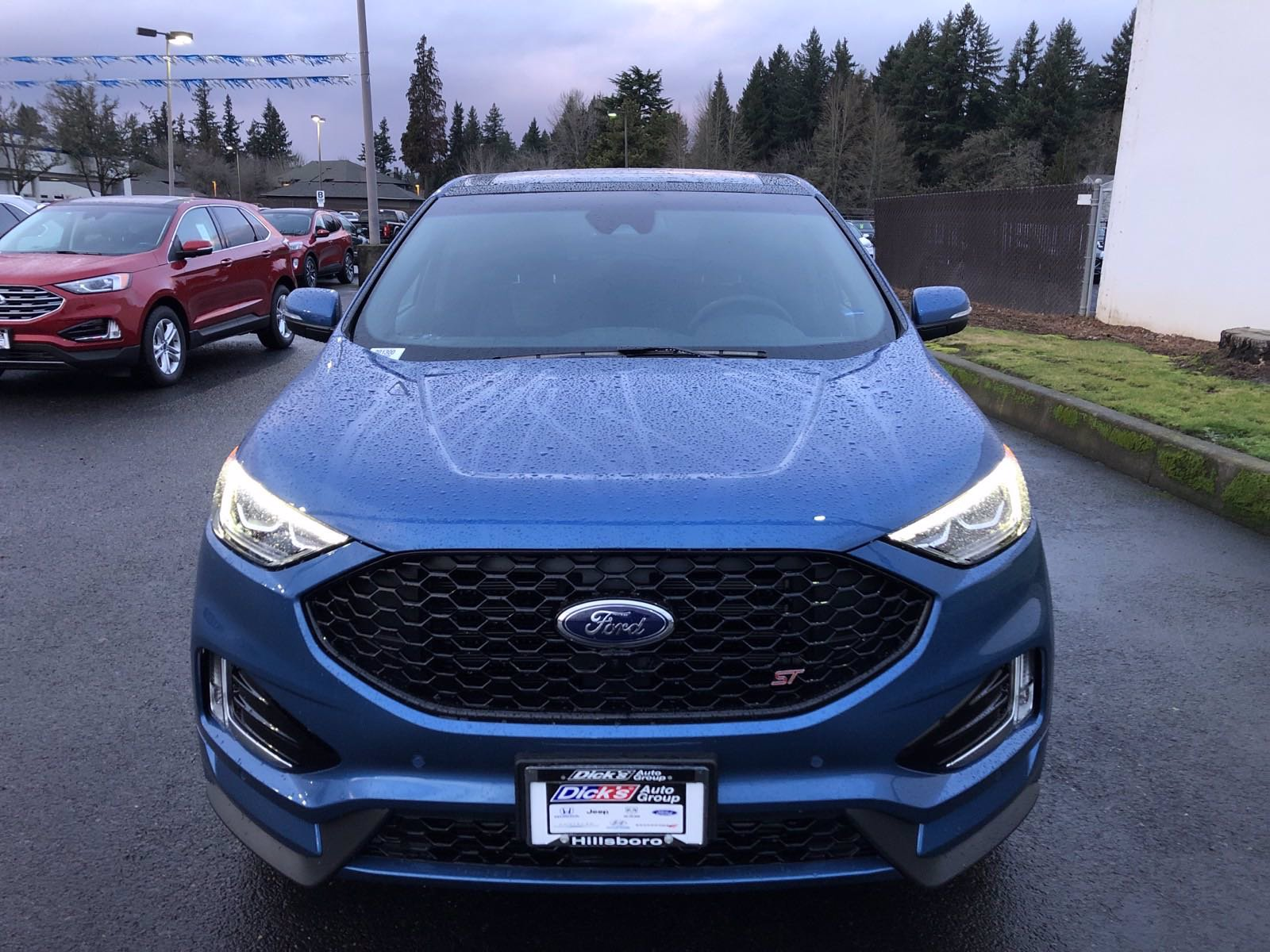 New 2020 Ford Edge ST AWD
