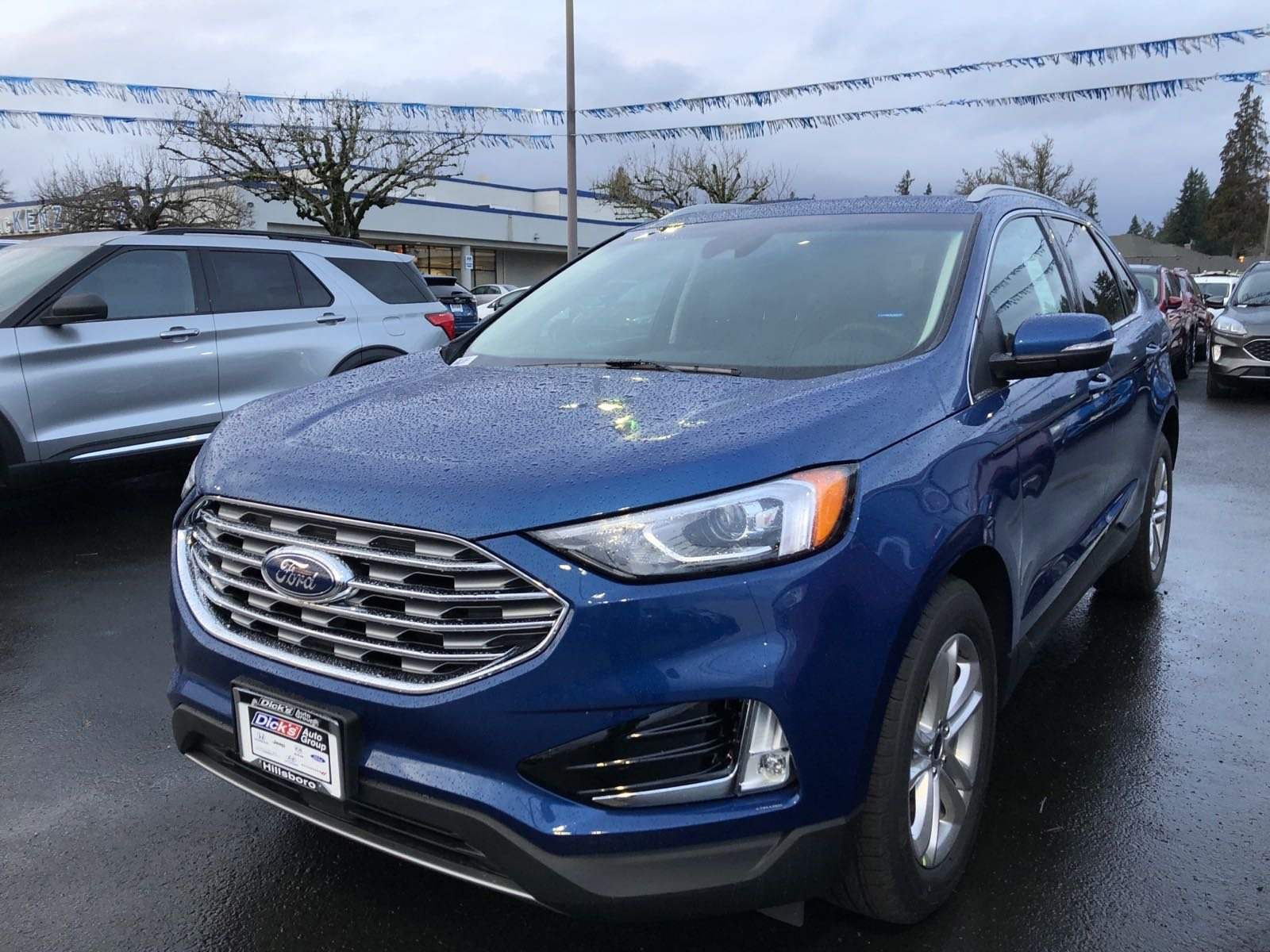 New 2020 Ford Edge SEL AWD