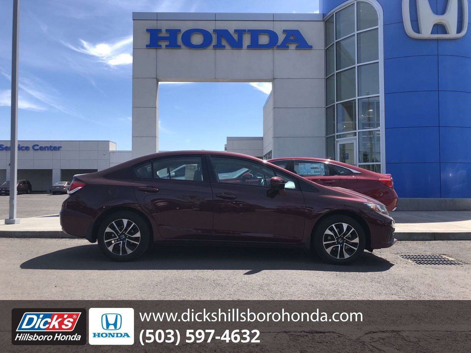 Pre-Owned 2015 Honda Civic Sedan EX
