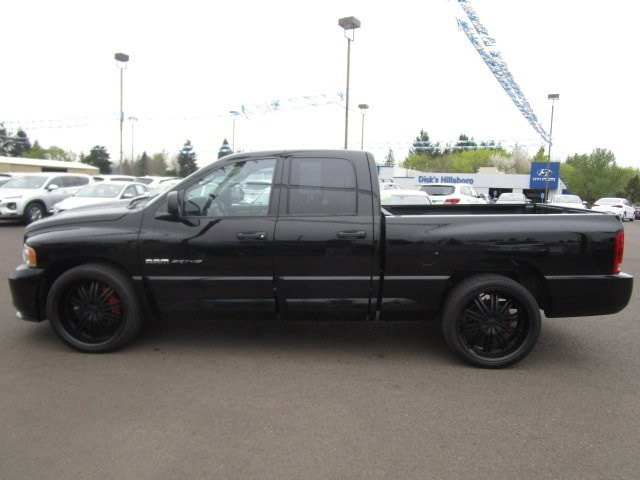 Pre-Owned 2005 Dodge Ram SRT-10 BLACK