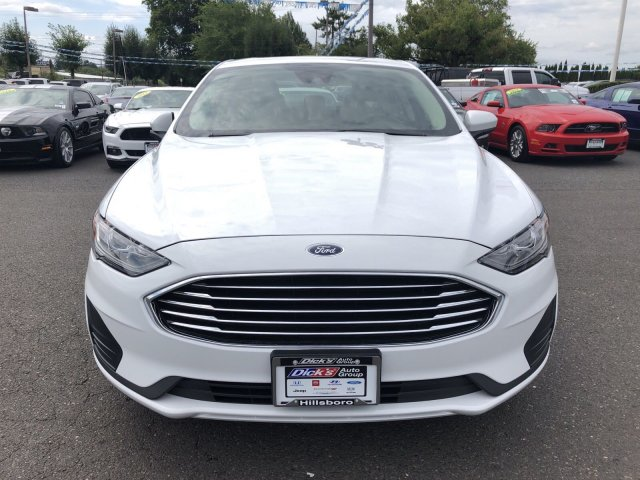New 2019 Ford Fusion Hybrid SE FWD