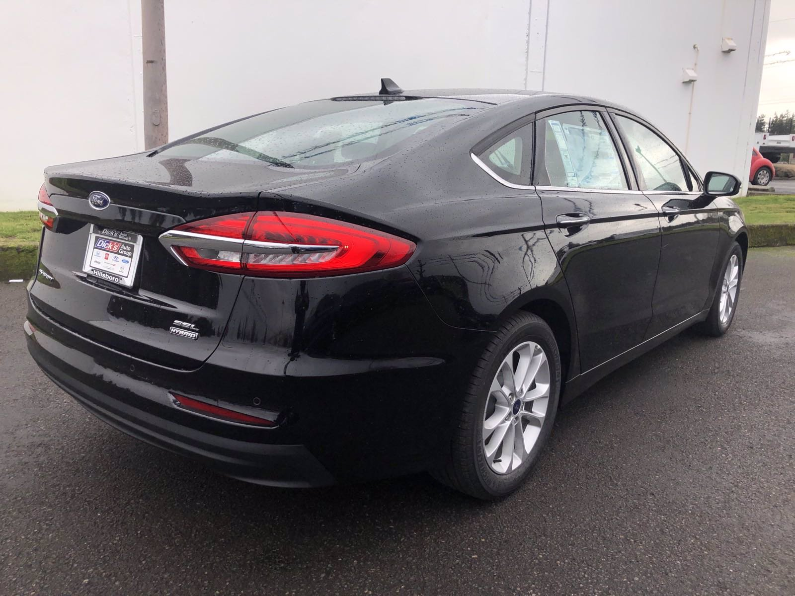 New 2020 Ford Fusion Hybrid SEL FWD