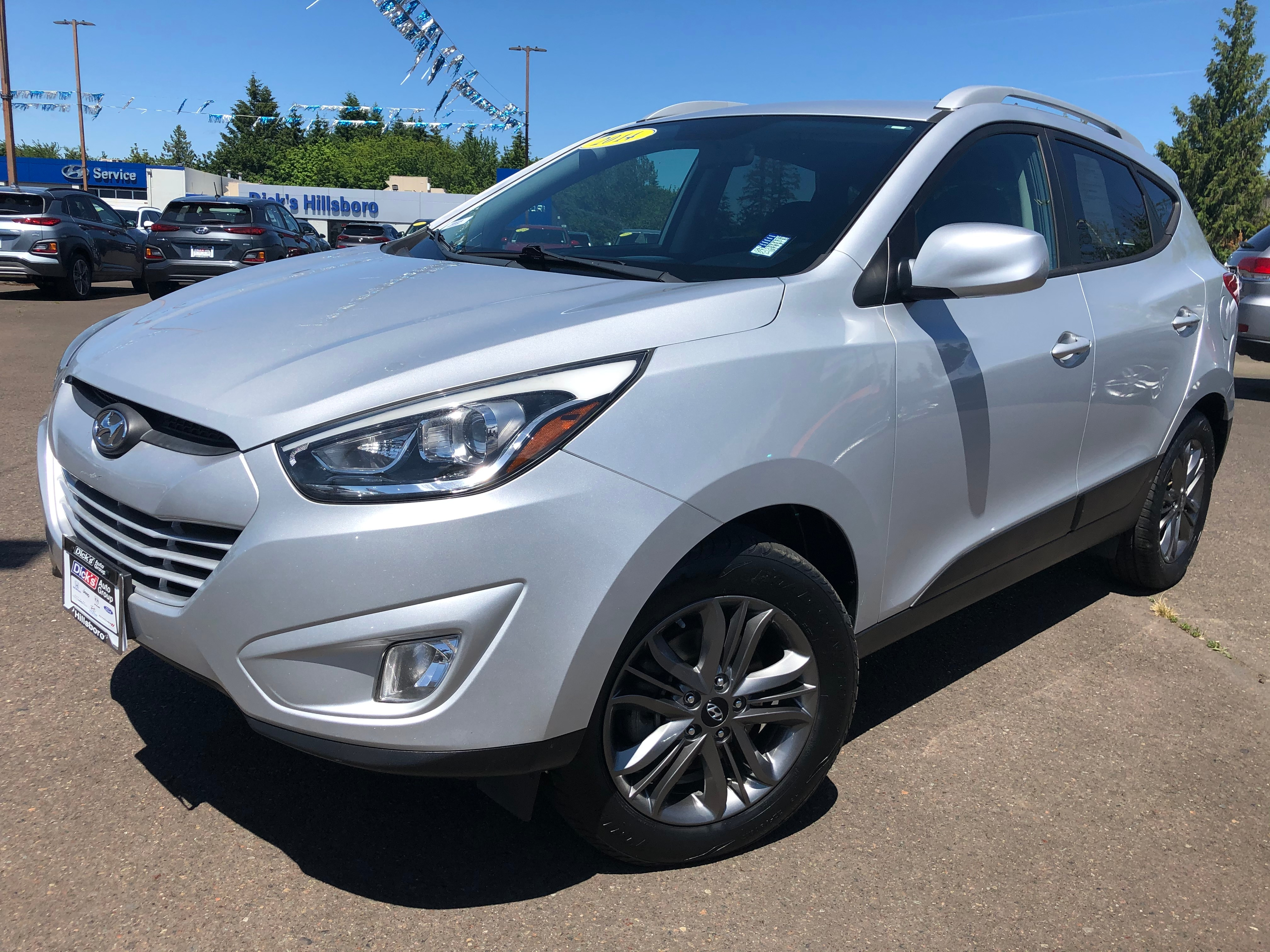Pre-Owned 2014 Hyundai Tucson Limited