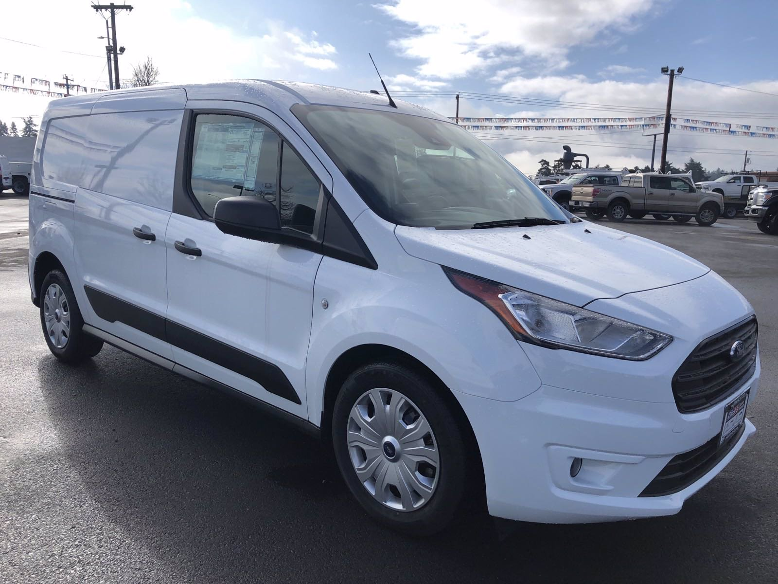 New 2020 Ford Transit Connect Van XLT LWB W/REAR SYMMETRICA