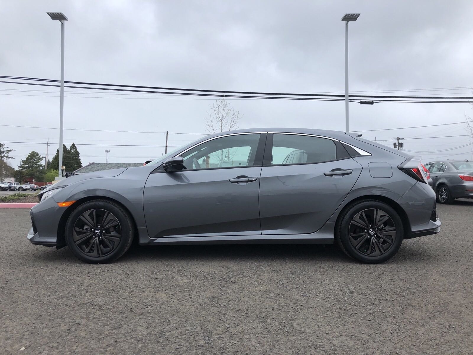 Pre-Owned 2018 Honda Civic Hatchback EX