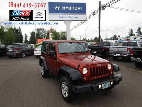 Pre-Owned 2014 Jeep Wrangler Sport 4x4