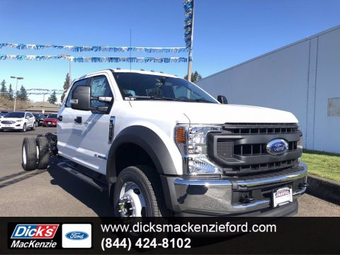 New 2020 Ford Super Duty F-550 DRW XL 4WD CREW CAB 203 WB 8