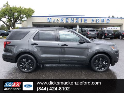 New 2019 Ford Explorer SPORT 4WD