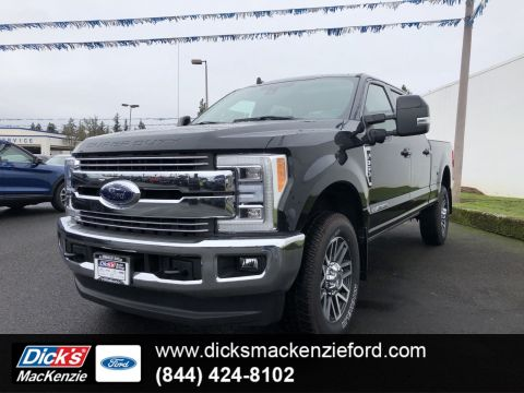 New 2019 Ford Super Duty F-350 SRW LARIAT 4WD CREW 160
