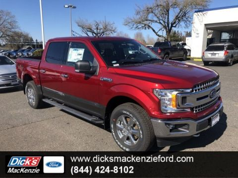New 2019 Ford F-150 LARIAT 4WD CREW145