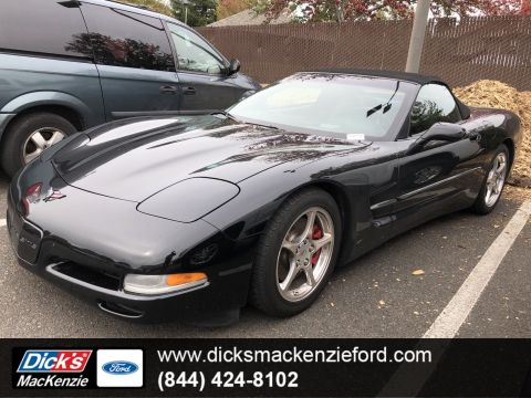 Pre-Owned 2002 Chevrolet Corvette CONVERTIBLE