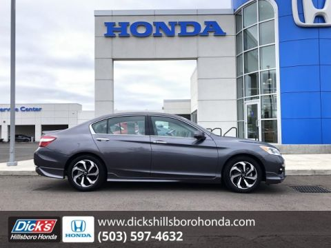Pre-Owned 2017 Honda Accord Sedan EX-L V6