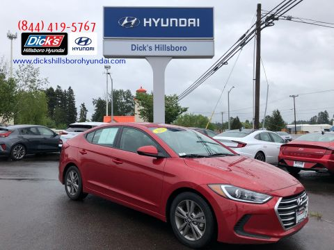 Pre-Owned 2018 Hyundai Elantra Value Edition w/SULEV A6