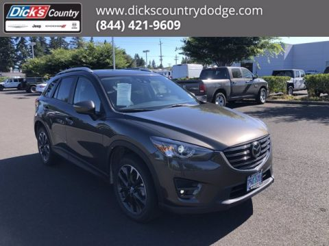 Pre-Owned 2016 Mazda CX-5 Grand Touring With Navigation & AWD