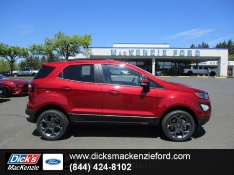New 2018 Ford EcoSport SES 4WD