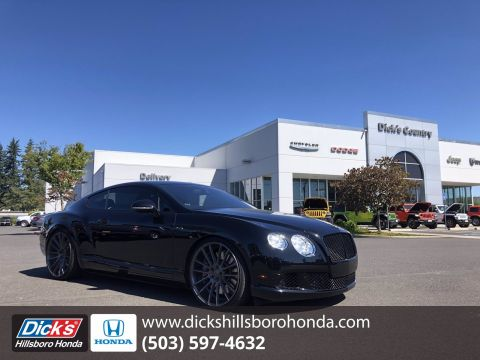 Pre-Owned 2014 Bentley Continental GT Speed BLACK With Navigation & AWD